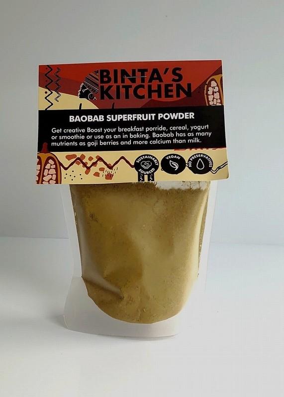Binta's Kitchen Baobab Superfruit Powder