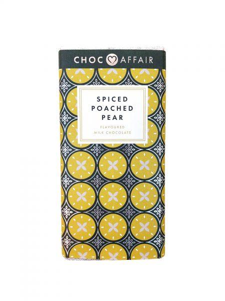 Choc Affair Spiced Poached Pear Milk Chocolate BAr