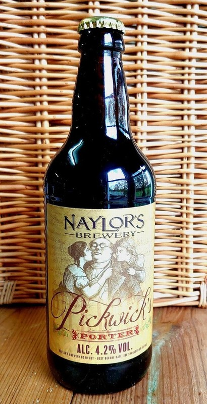 Naylor's Brewery Pickwick's Porter