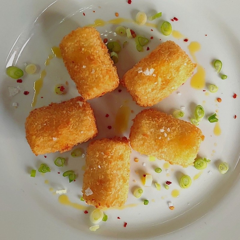 Canape - Ham and Wensleydale Croquette