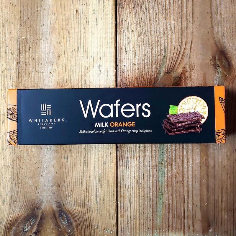 Whitakers Milk Chocolate Orange Wafers