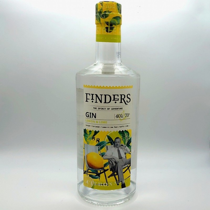 Finders Gin - Lemon and Lime