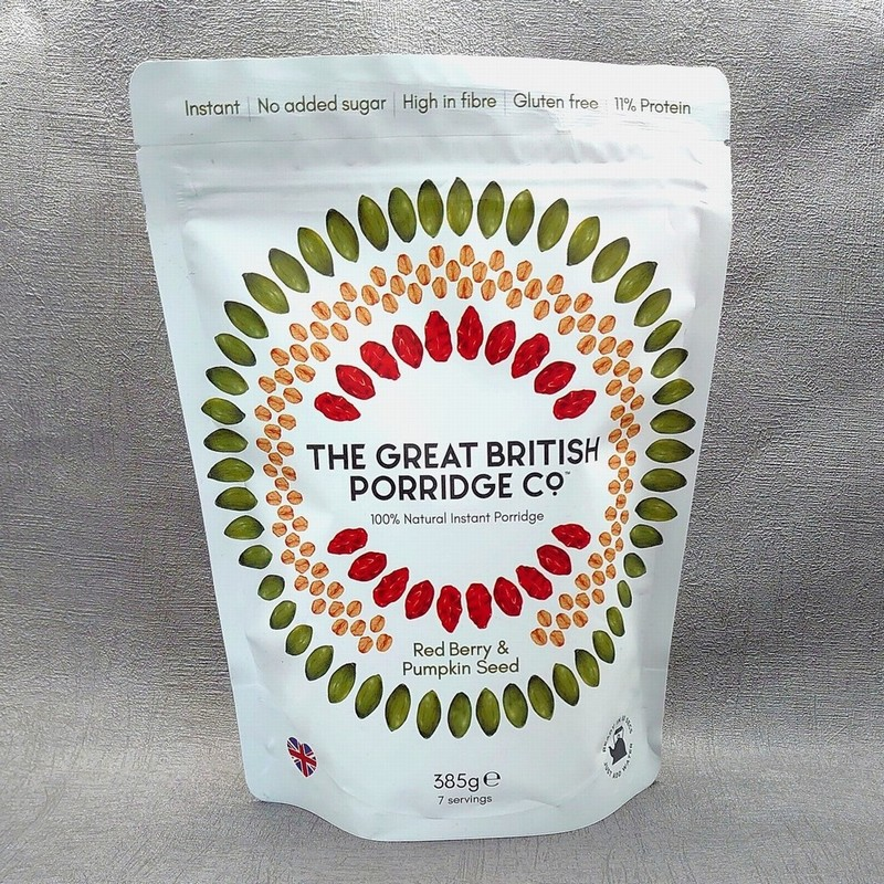 The Great Britis Porridge Co. Red Berry & Pumpkin Seed Porridge