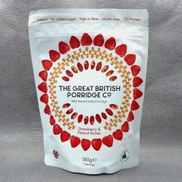 The Great British Porridge Co. Strawberry & Peanut Butter