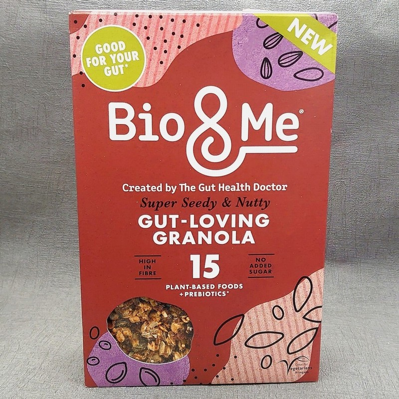 Bio and Me Super Seedy and Nutty Granola