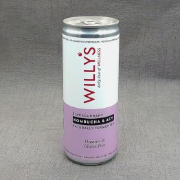 Willy's Blackcurrant Energy Drink with Kambucha and ACV