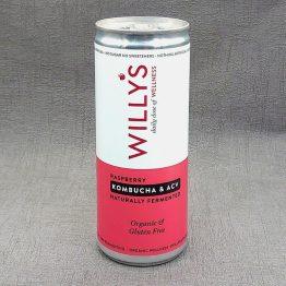 Willy's Raspberry, Kombucha and ACV Energy Drink