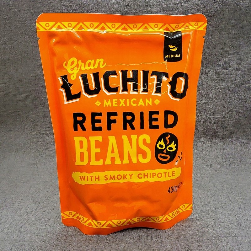Gran Luchito Mexican Refried Beans With Smoky Chipotle