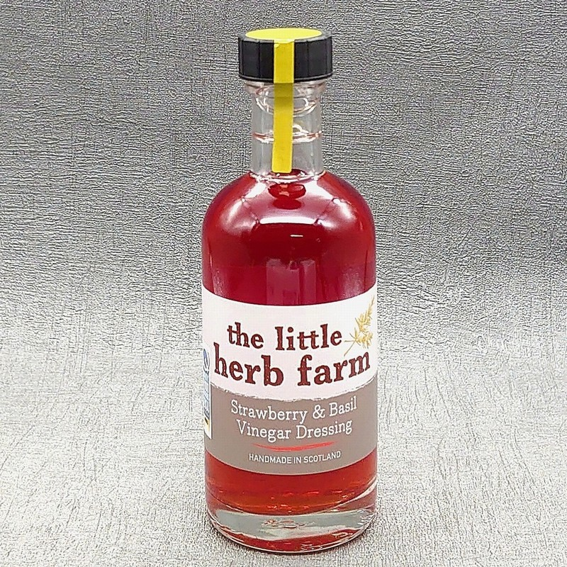 The Little Herb Farm Strawberry and Basil Vinegar Dressing