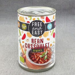 Free and Easy Organic Bean Cassoulet