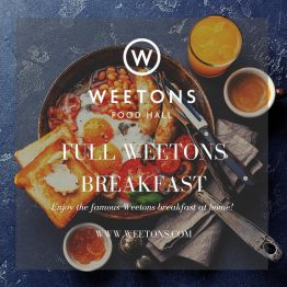 The Full Weetons Breakfast For 2