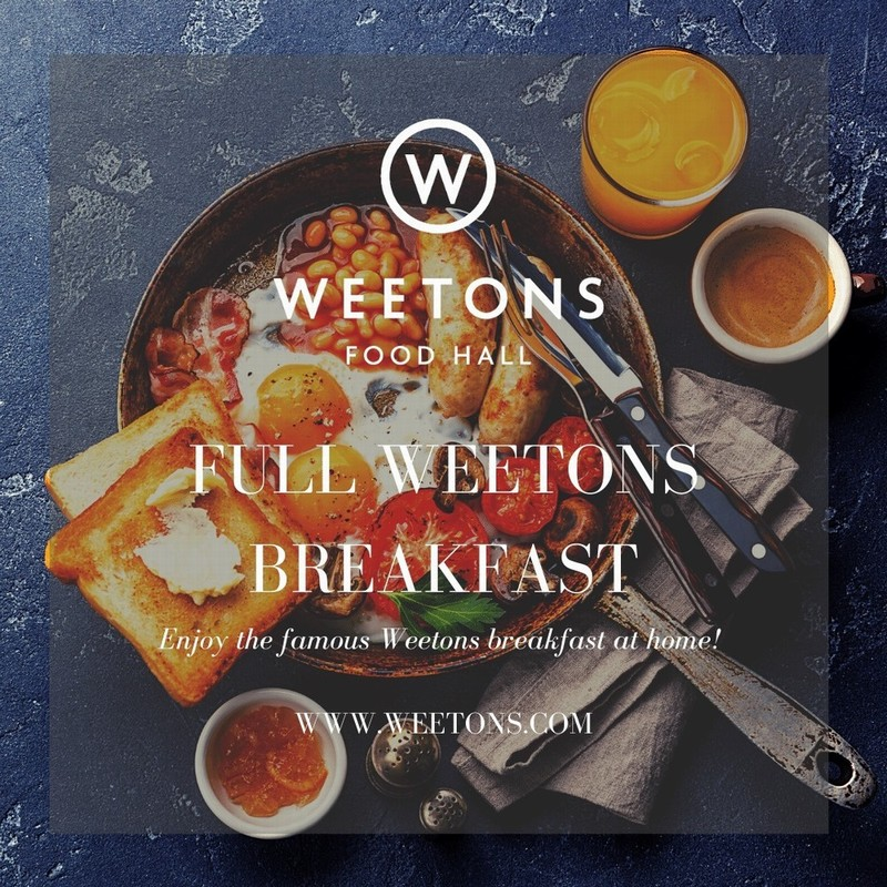 The Full Weetons Breakfast for 4