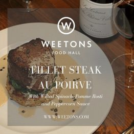 Recipe Box - Fillet Steak au Poirve for 2