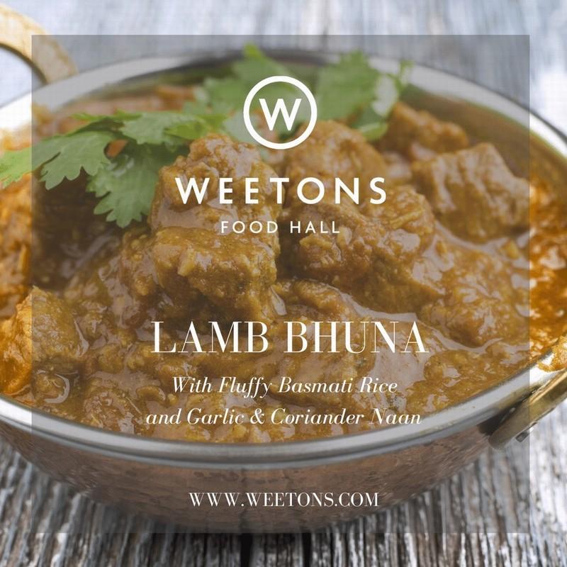 Recipe Box - Lamb Bhuna for 4