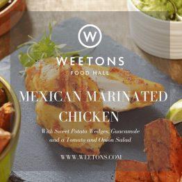 Recipe Box - Mexican Chicken Salad for 4