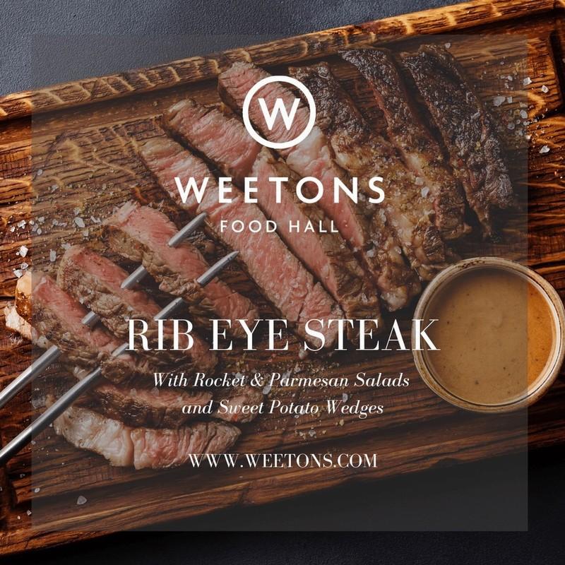 Recipe Box - Rib Eye Steak with Bearnaise Sauce for 2
