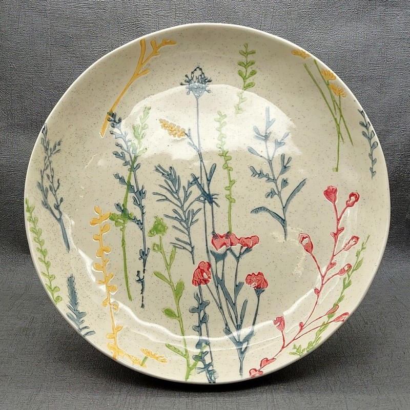 Gisela Graham Meadow Shallow Bowl