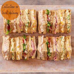 A Platter - Sandwich Selection