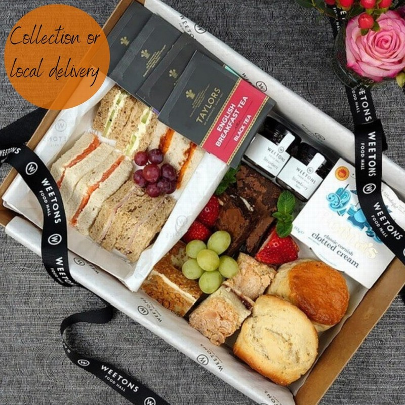 A PLATTER - AFTERNOON TEA WITH FIZZ