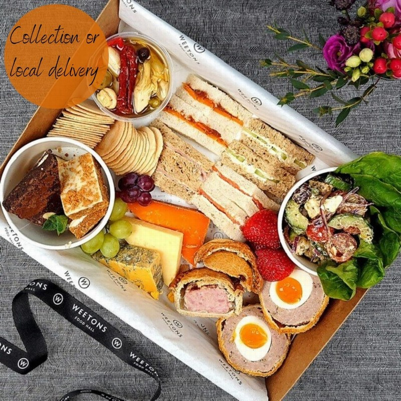 A PLATTER - PICNIC WITH FIZZ