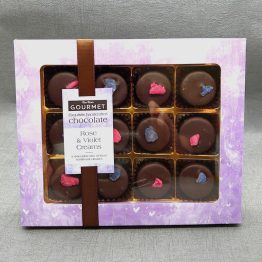 Bon Bon's Gourmet Rose and Violet Creams