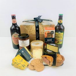 PLOUGHMAN'S BOX WITH BEER