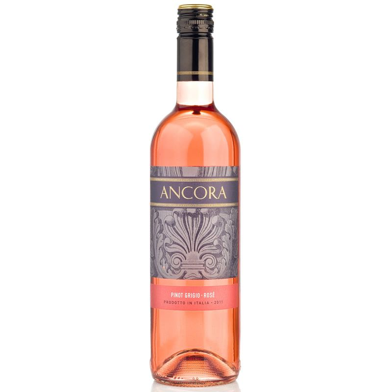 Ancora Pinot Grigio Rose Wine, Italy
