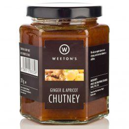 Weetons Ginger & Apricot Chutney