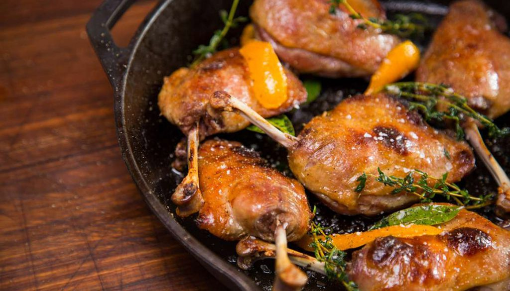 Bespoke or Lux Dining - Duck confit 7