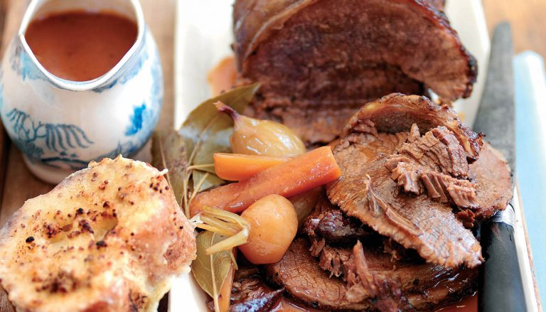 Brisket of Beef with Brown Ale