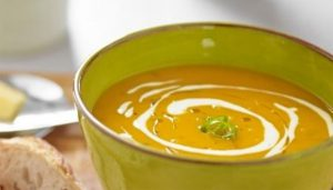 Read more about the article Roasted Butternut Squash, Sage & Goats Cheese Soup